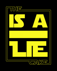 TheCakeIsALie_Black